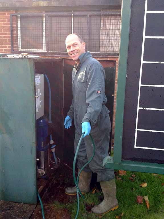 Craig from ASMC green maintenance